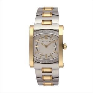 ブルガリ 時計 レディース BVLGARI AA39C6SGD アショーマ 腕時計 ウォッチ シルバー/ゴールド/ホワイト【new0226】|1andone