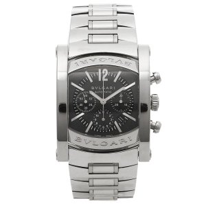 ブルガリBVLGARI時計 ブルガリ 腕時計 メンズ アショーマ オートマチック クロノグラフ ネイビー AA44C14SSDCH シリアル有|1andone