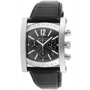 ブルガリ 時計 メンズ BVLGARI AA48C14SLDCH アショーマ 腕時計 ウォッチ ブラック|1andone