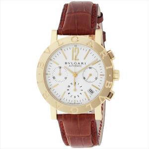 ブルガリ 時計 メンズ BVLGARI BB38WGLDCH ブルガリブルガリ 自動巻き 腕時計 ウォッチ ブラウン/ホワイト|1andone