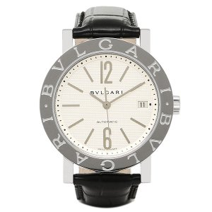 ブルガリ 腕時計 BVLGARI BB38WSLDAUTO ホワイト シルバー ブラック|1andone
