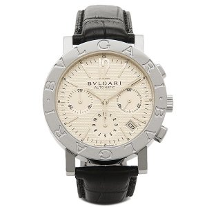 ブルガリ 腕時計 BVLGARI BB38WSLDCH ホワイト シルバー ブラック|1andone