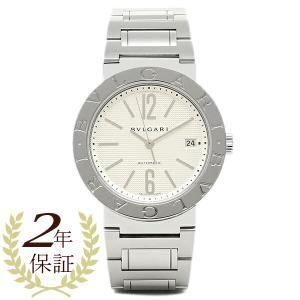 ブルガリBVLGARI時計 ブルガリ 腕時計 メンズ ブルガリブルガリ SSブレス ホワイト AUTO BB38WSSD/N シリアル有|1andone