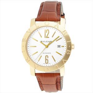 ブルガリ 時計 メンズ BVLGARI BB42WGLDAUTO ブルガリブルガリ 自動巻き 腕時計 ウォッチ ブラウン/ホワイト|1andone