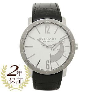 ブルガリ 腕時計 BVLGARI BB43WSL ホワイト シルバー ブラック|1andone