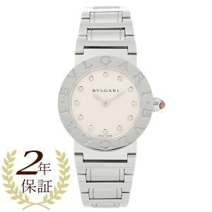 ブルガリ 時計 レディース BVLGARI BBL26WSS/12 ブルガリブルガリ 腕時計 ウォッチ シルバー/ホワイトパール|1andone