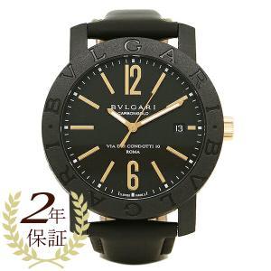 ブルガリ 腕時計 BVLGARI BBP40BCGLD ブラック|1andone