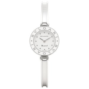 ブルガリ 時計 レディース BVLGARI BZ22WLSSM B-zero1 ビーゼロワン 腕時計 ウォッチ シルバー/ホワイト|1andone