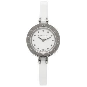 ブルガリ 時計 レディース BVLGARI BZ23WSCC.S B-zero1 ビーゼロワン 腕時計 ウォッチ ホワイト/ホワイト|1andone