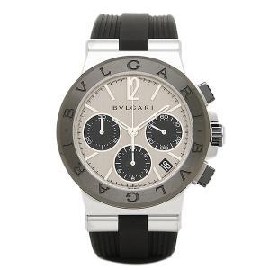 ブルガリ 腕時計 BVLGARI DG37C6SCVDCH シルバー ブラック|1andone