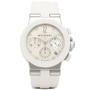 ブルガリ 時計 レディース BVLGARI DG37WSCVDCH/8 ディアゴノ 腕時計 ウォッチ ホワイト/ホワイト 1andone