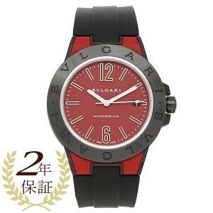 ブルガリ 腕時計 メンズ 自動巻き BVLGARI DG41C9SMCVD/SP レッド ブラック|1andone
