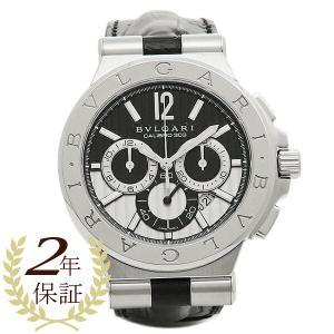 ブルガリ 腕時計 BVLGARI DG42BSLDCH シルバー ブラック|1andone