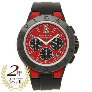 BVLGARI 腕時計 レディース ブルガリ DG42C9SMCVDCH レッド ブラック|1andone