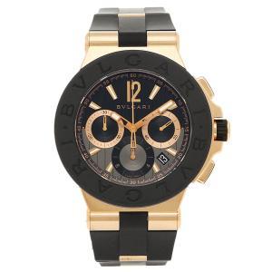 BVLGARI 腕時計 レディース ブルガリ DGP42BGVDCH ブラック ローズゴールド|1andone