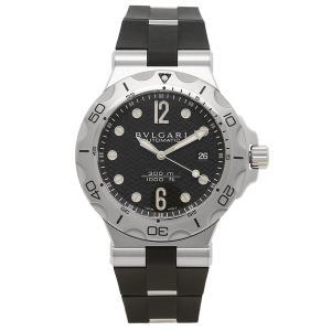 BVLGARI 腕時計 メンズ ブルガリ DP42BSVDSDVTG ブラック シルバー 1andone