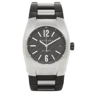 ブルガリ 時計 メンズ BVLGARI EG35BSVD エルゴン 腕時計 ウォッチ シルバー/ブラック/カーボンブラック|1andone