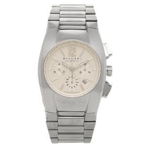 ブルガリ 時計 メンズ BVLGARI EG35C6SSDCH エルゴン 腕時計 ウォッチ シルバー/ホワイト|1andone