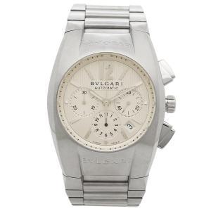 ブルガリ 時計 メンズ BVLGARI EG40C6SSDCH エルゴン 腕時計 ウォッチ シルバー/ホワイト|1andone
