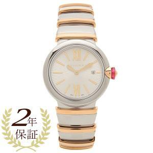 ブルガリ 腕時計 レディース BVLGARI LU28C6SSPGD シルバー ピンクゴールド|1andone