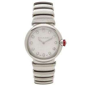 BVLGARI 腕時計 レディース ブルガリ LU28WSS/12 シルバー|1andone