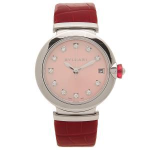 ブルガリ 腕時計 レディース 自動巻き BVLGARI LU33C2SLD/11 ピンク レッド シルバー|1andone