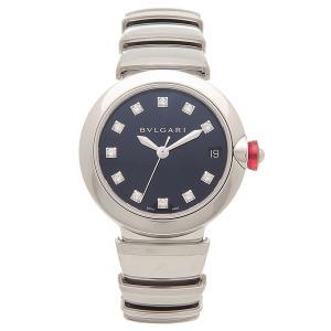 ブルガリ 腕時計 レディース 自動巻き BVLGARI LU33C3SSD/11 シルバー ネイビー|1andone