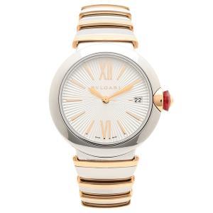 ブルガリ 腕時計 レディース 自動巻き BVLGARI LU36C6SSPGD ピンクゴールド シルバー|1andone