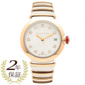 ブルガリ 腕時計 レディース 自動巻き BVLGARI LU36WSPGSPGD/11 ピンクゴールド シルバー|1andone