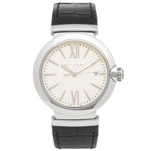 BVLGARI 腕時計 メンズ ブルガリ LU40C6SLD シルバー ブラック|1andone