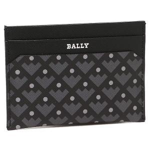 バリー カードケース BALLY 6199758 010 ブラック|1andone