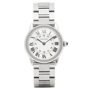 カルティエ レディース腕時計 CARTIER W6701004 シルバー/ホワイト 1andone