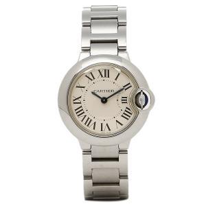 カルティエ 時計 レディース CARTIER W69010Z4 バロンブルー SS 腕時計 ウォッチ シルバー/ホワイト 1andone
