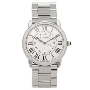 カルティエ 腕時計 メンズ ロンド ソロ ドゥ CARTIER WSRN0012 シルバー 1andone