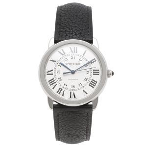 カルティエ 腕時計 レディース メンズ CARTIER WSRN0021 シルバー ブラック 1andone
