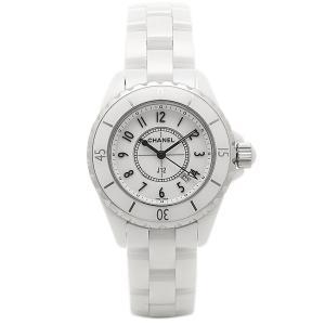 シャネル 時計 CHANEL H0968 J12 ジェイトゥエルヴ 33mm クオーツ 200m防水 レディース腕時計ウォッチ ホワイト|1andone