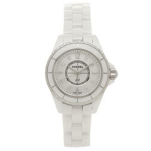 シャネルCHANEL時計 腕時計 レディース J12 H2570 29MM 8Pダイヤモンド ホワイトセラミック ウォッチシリアル有|1andone