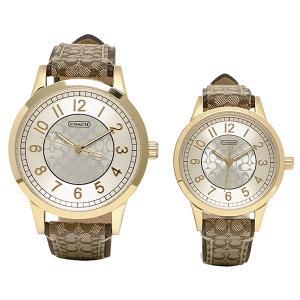 コーチ 腕時計 COACH 14000043 カーキ シルバー|1andone