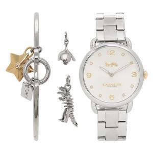 コーチ 腕時計 レディース COACH 14000056 ホワイト シルバー|1andone