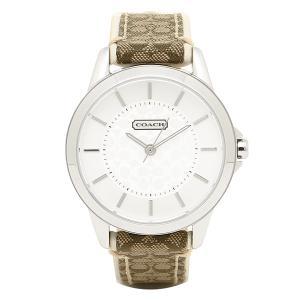 コーチ 時計 レディース COACH 14501526 クラシックシグネチャー 腕時計 ウォッチ シルバー|1andone