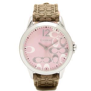 コーチ 腕時計 レディース COACH 14501621 クラシックNEW CLASSIC SIGNATURE ニュークラシックシグネチャー 時計/ウォッチ ピンク|1andone