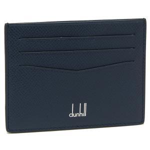 ダンヒル カードケース メンズ DUNHILL 18F220CCA ネイビー|1andone