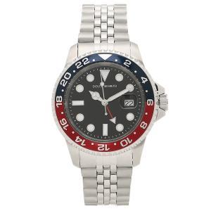 ドルチェセグレート 腕時計 メンズ DOLCE SEGRETO GMT400-BURD シルバー ブラック 1andone