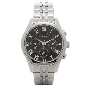 ドルチェセグレート メンズ 腕時計 DOLCE SEGRETO MEA100BK ブラック シルバー 1andone
