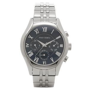ドルチェセグレート メンズ 腕時計 DOLCE SEGRETO MEA100BU ブルー シルバー 1andone
