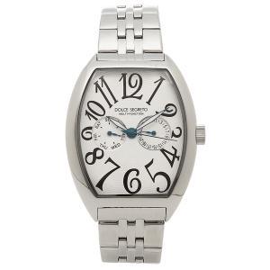 ドルチェセグレート 腕時計 メンズ DOLCE SEGRETO MFK100SV シルバー 1andone