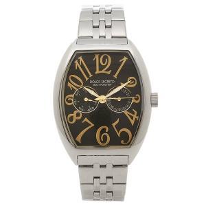 ドルチェセグレート 腕時計 メンズ DOLCE SEGRETO MFK100YGBK シルバー ブラック 1andone