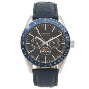 ドルチェセグレート 腕時計 メンズ DOLCE SEGRETO MW390BU-BU シルバー ネイビー 1andone