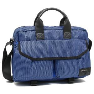 ディーゼル ビジネスバッグ DIESEL X04012 PR027 T6084 ブルー|1andone