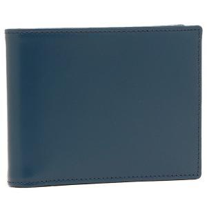 エッティンガー メンズ 折り財布 ETTINGER BH141JR ブルー イエロー|1andone